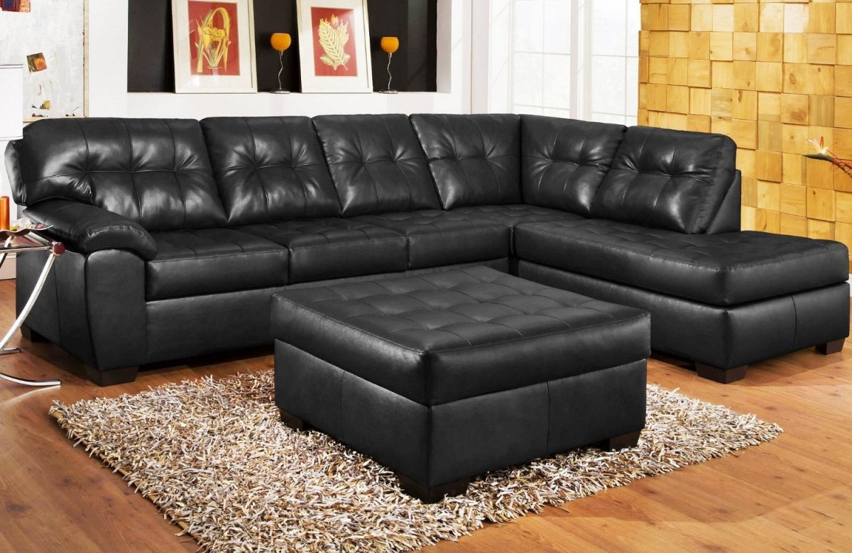 Black Sectional Sofa For Cheap Hereo Sofa In Black Sectional Sofa For Cheap (Image 4 of 15)