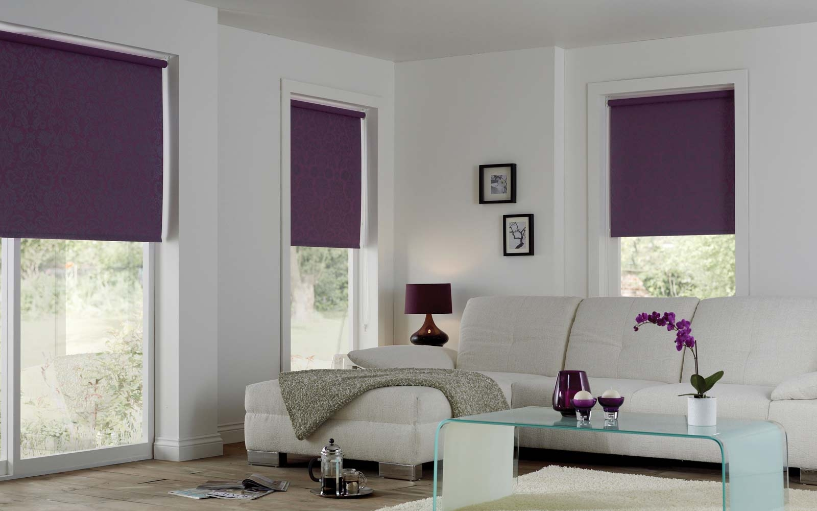 Blackout Blinds Surrey Blinds Shutters For Blackout Roman Blind (Image 5 of 15)