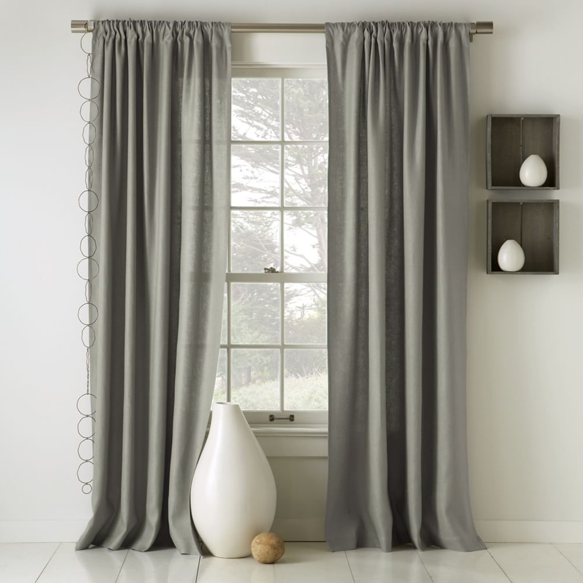 Blackout Lined Linen Curtains Business For Curtains Decoration With Lined Cotton Curtains (Image 4 of 15)