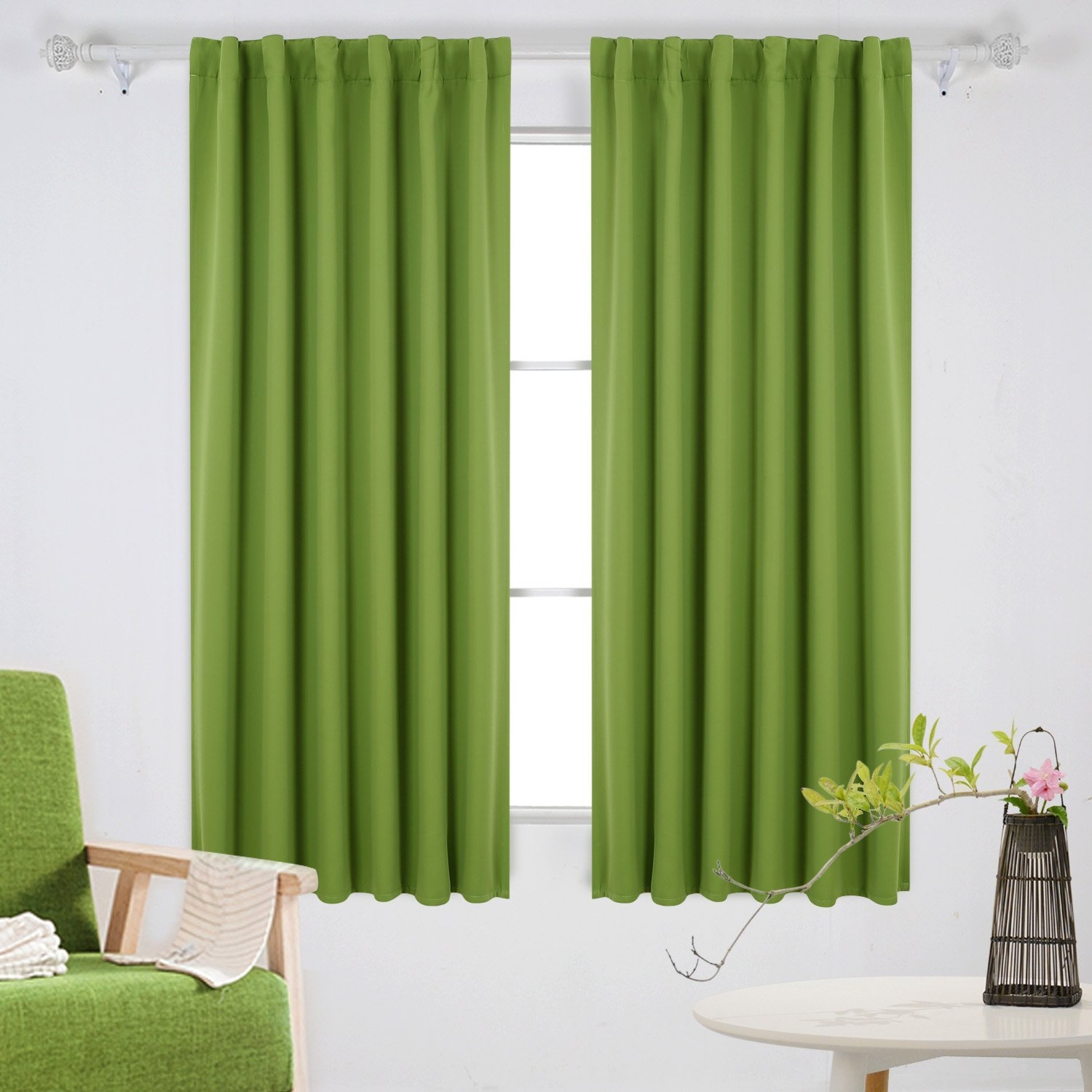 Blackout Thermal Curtains Sale Ease Bedding With Style With Striped Thermal Curtains (Image 5 of 15)