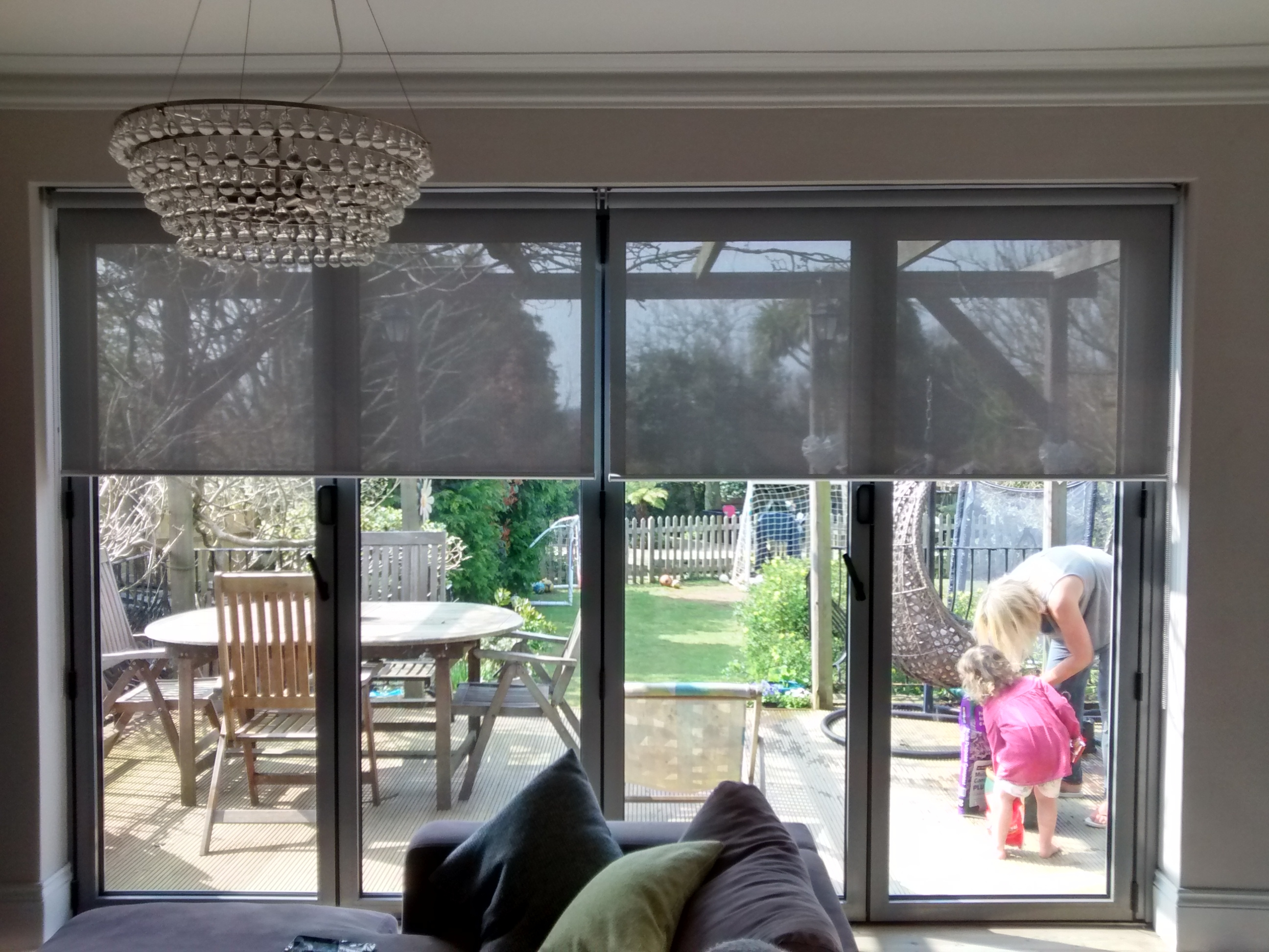 Blinds For French Doors A Way To Secure And Beautify Your Home Within Front Room Blinds (Image 4 of 15)