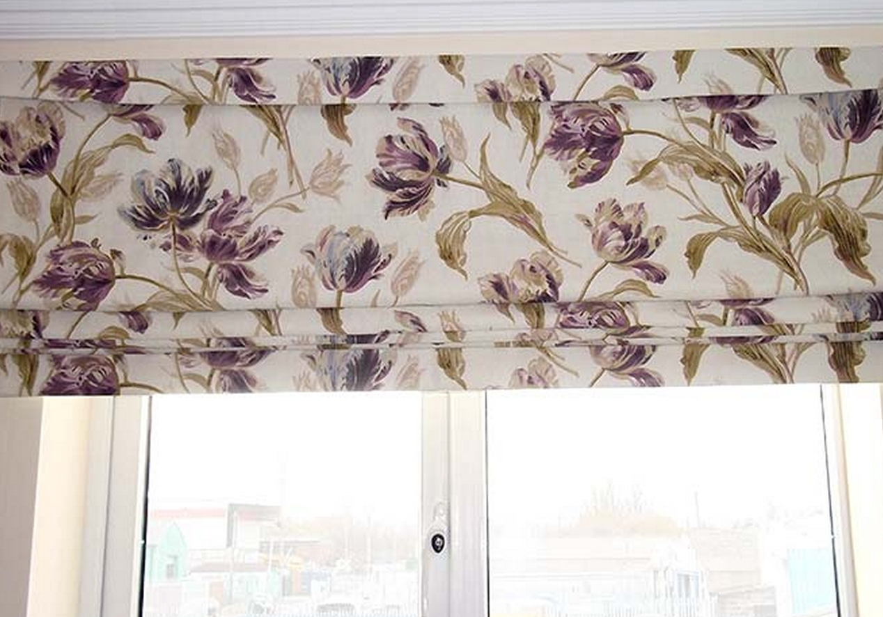 Blinds Middlesbrough Blinds Middlesbrough Conservatory Blinds With Floral Roman Blinds (Image 7 of 15)