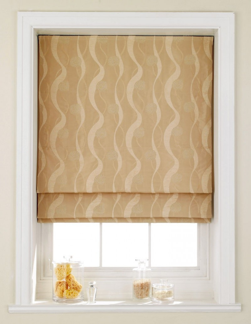 Blinds Roman Blinds Home Style Blinds And Shutters With Yellow Roman Blinds (Image 6 of 15)
