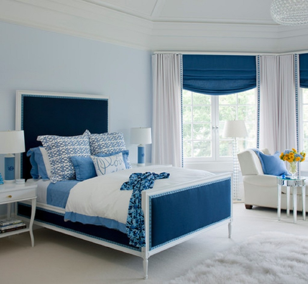 Blue Bedroom Curtains Ideas Pertaining To Home Xdmagazine With Blue Bedroom Curtains (Image 7 of 15)
