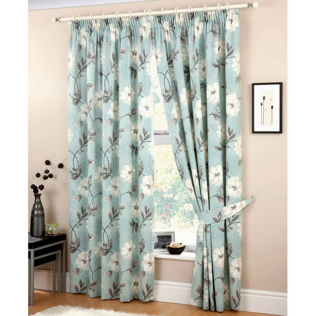 Blue Curtains For Bedroom Curtains Wall Decor With Blue Bedroom Curtains (Image 9 of 15)