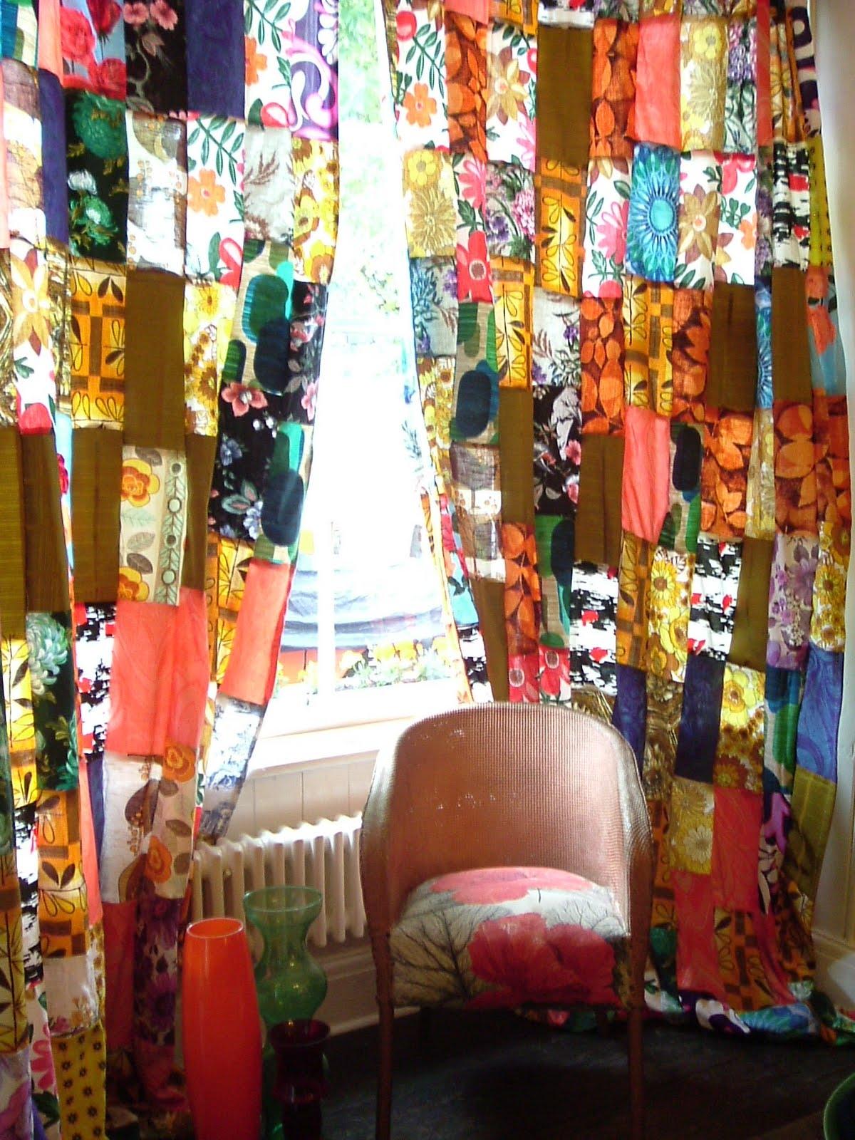 Bohemian Hippie Curtains Melisalanious On Etsy Bohemian For Bohemian Curtains (Image 8 of 15)