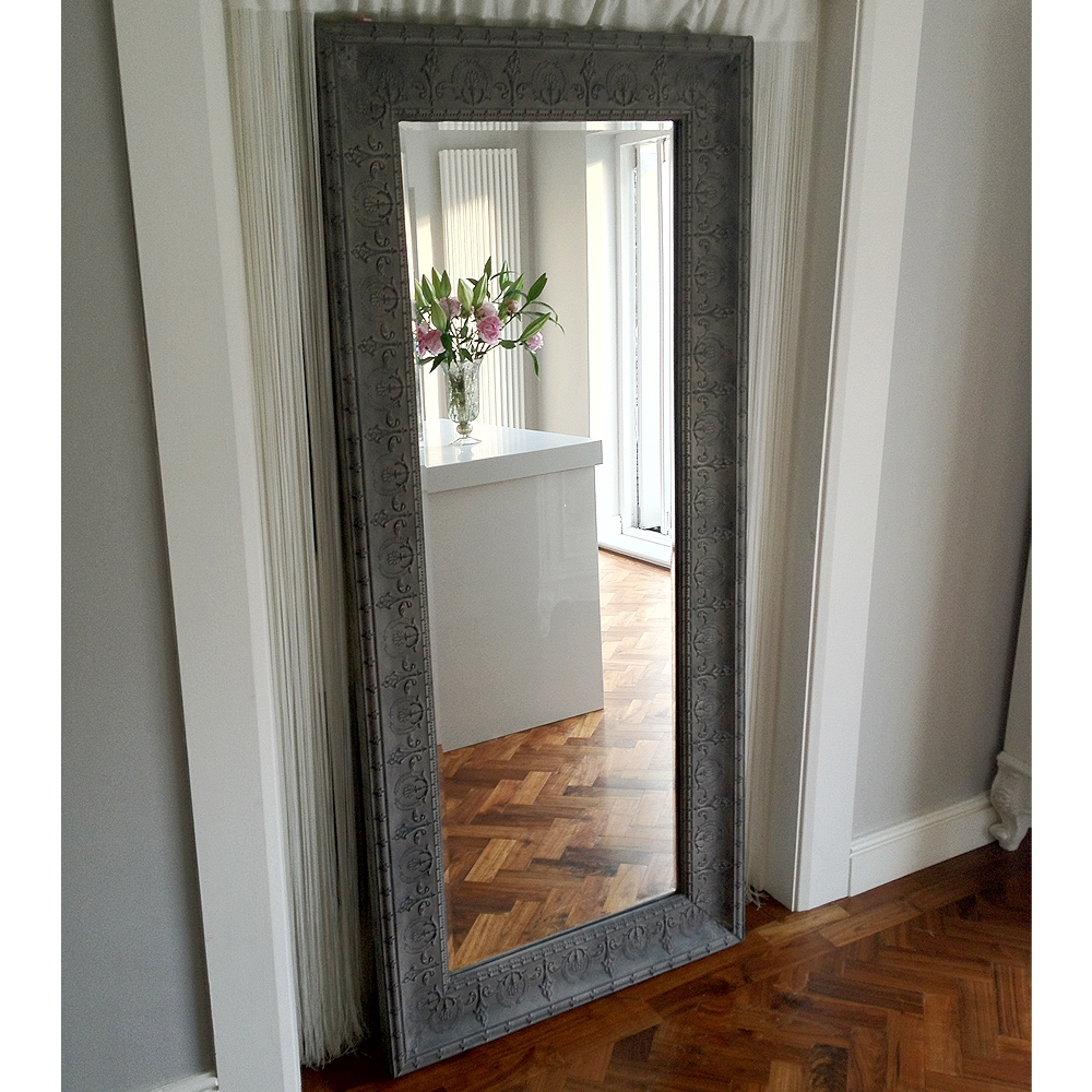 Boho Beauty Full Length Mirror Full Length Mirrors Mirrors Inside Long Free Standing Mirror (Image 3 of 15)