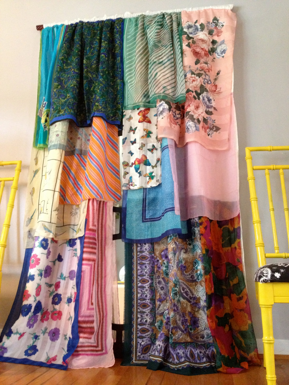 Boho Curtains Gypsy Bohemian Curtains Homemade Curtains Bed Within Bohemian Curtains (Image 10 of 15)