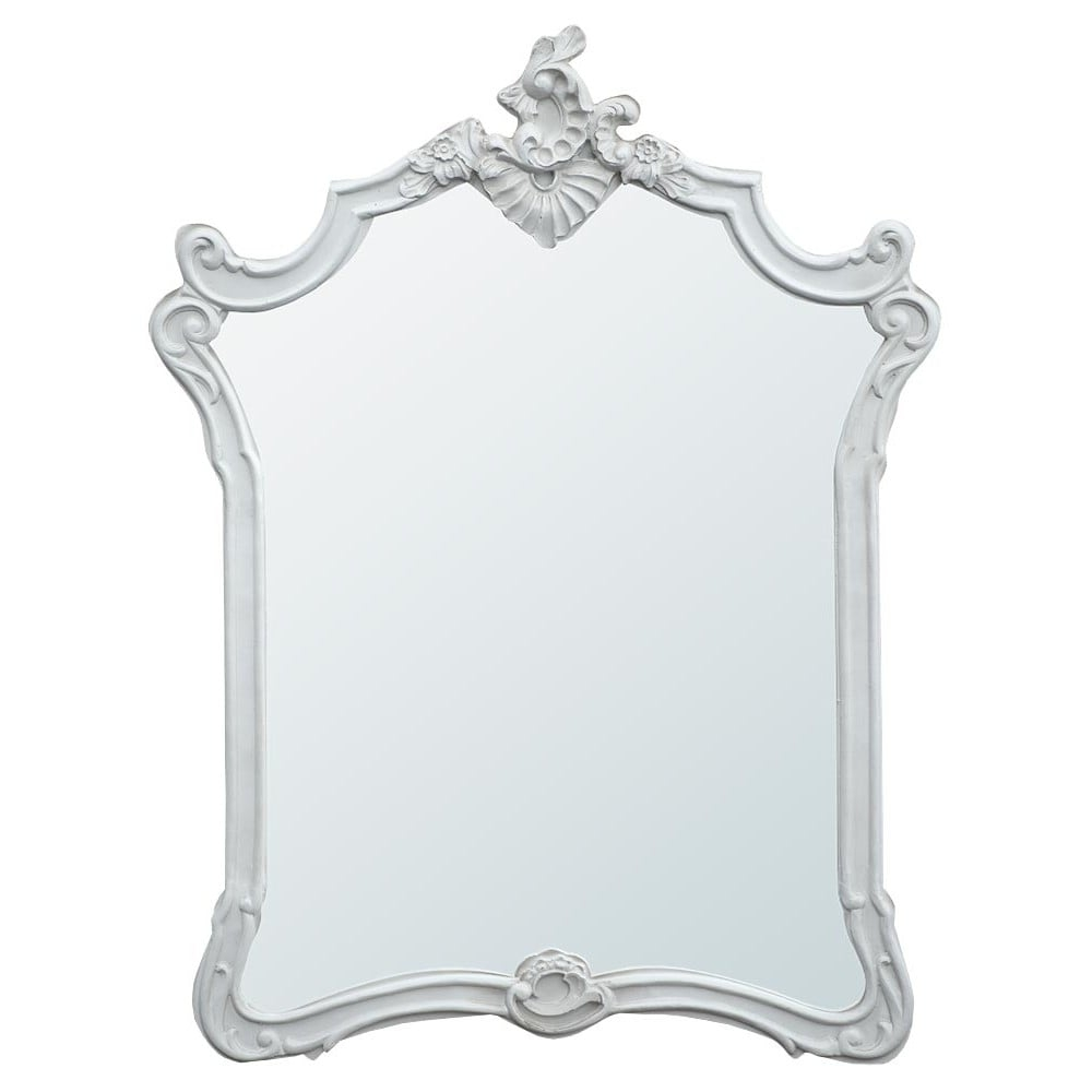 Boudoir Provence Baroque Antique French Style Mirror French Within Baroque Style Mirror (Image 8 of 15)