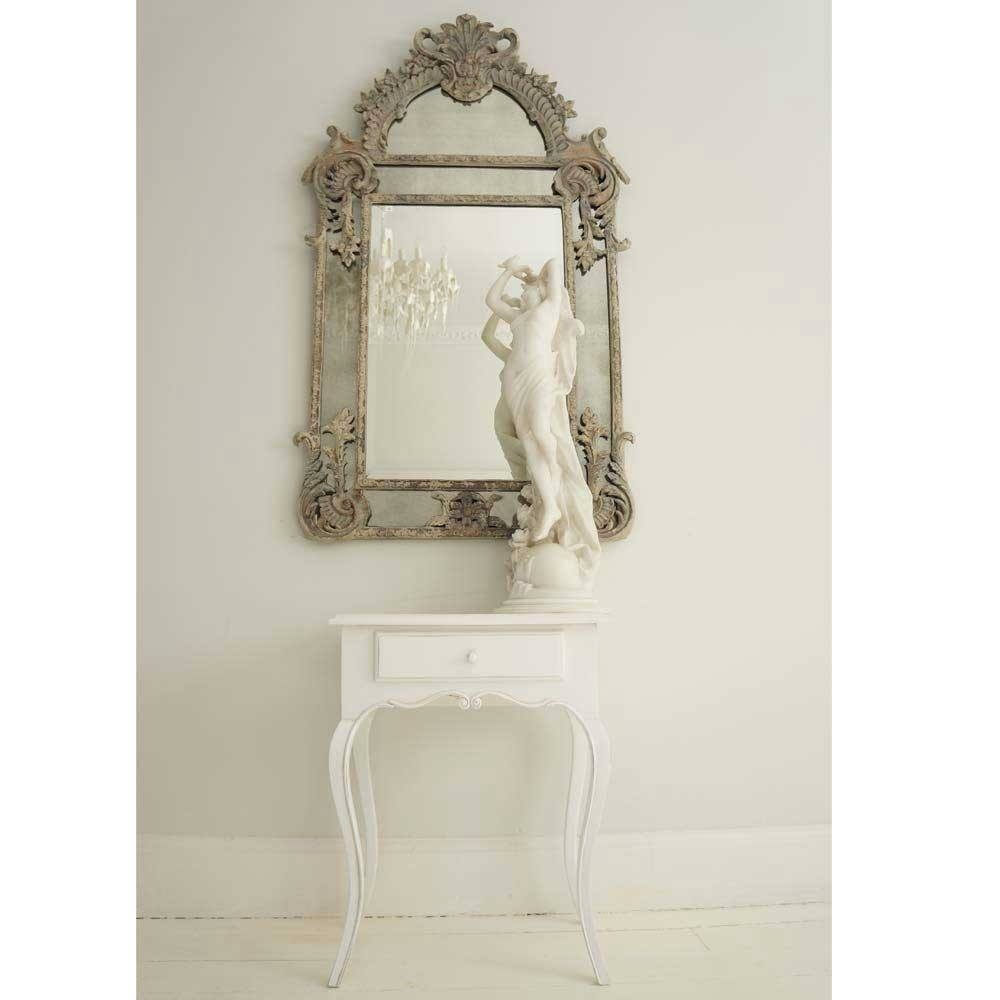 Boulevard Saint Germain French Mirror Luxury Mirror For French Mirror (Image 6 of 15)