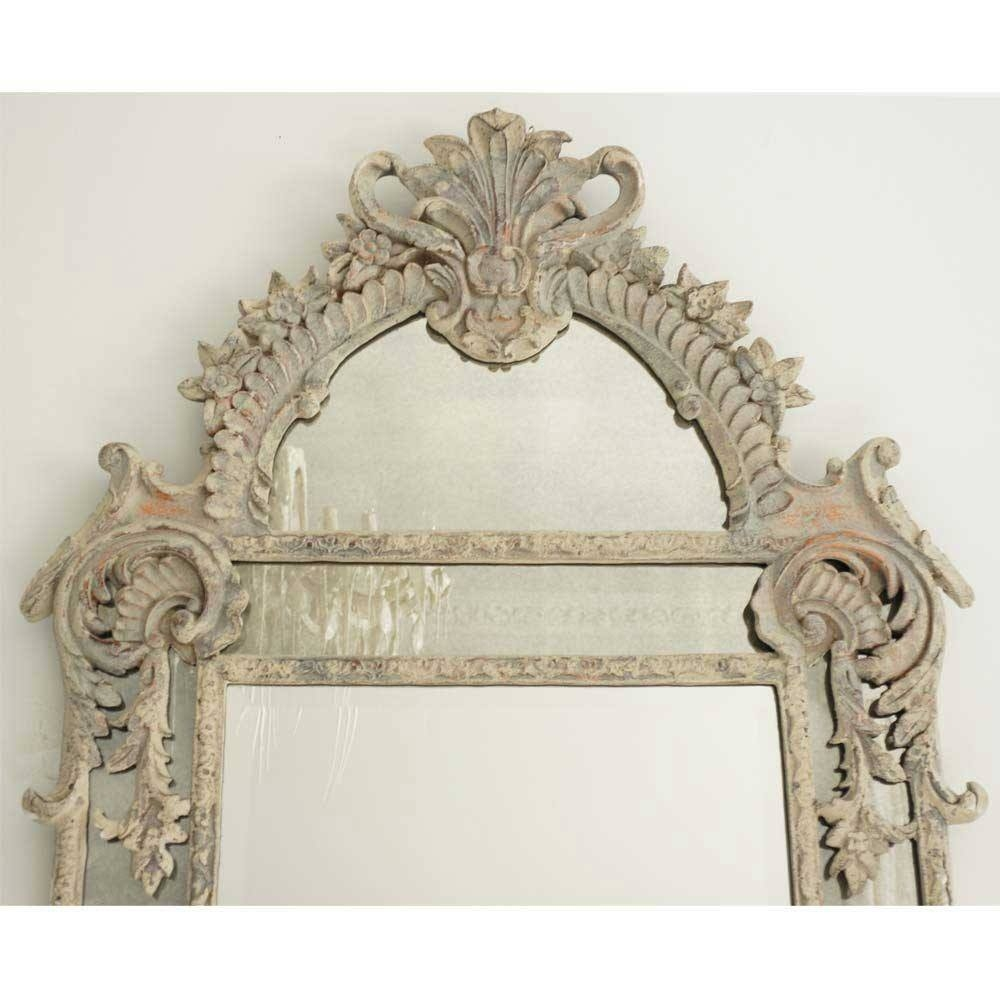Boulevard Saint Germain French Mirror Luxury Mirror Intended For French Mirror (Image 7 of 15)