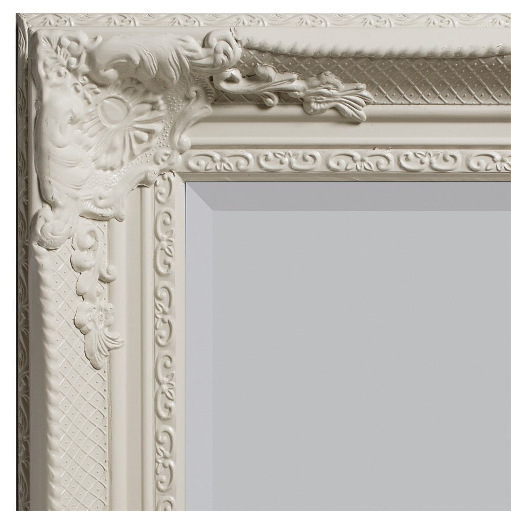 Braemar Baroque Mirror Cream Mirrors Art Pagazzi Lighting Pertaining To Cream Mirror (Image 5 of 15)
