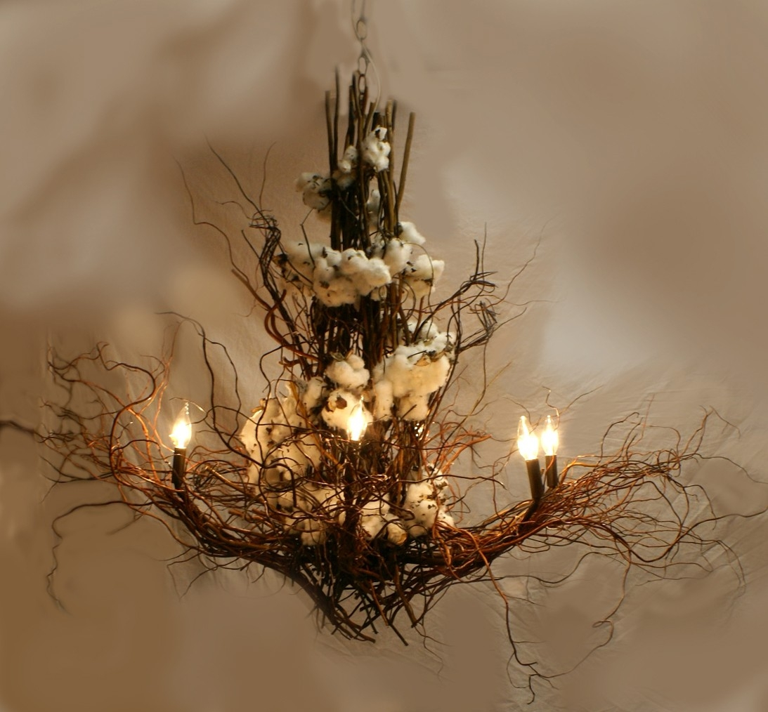 Branch Twig Chandelier Pertaining To Lucinda Branch Chandelier (Image 7 of 15)