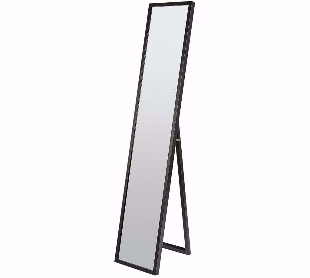 Brand New Free Standing Mirror Black In Amersham Inside Black Free Standing Mirror (Image 6 of 15)