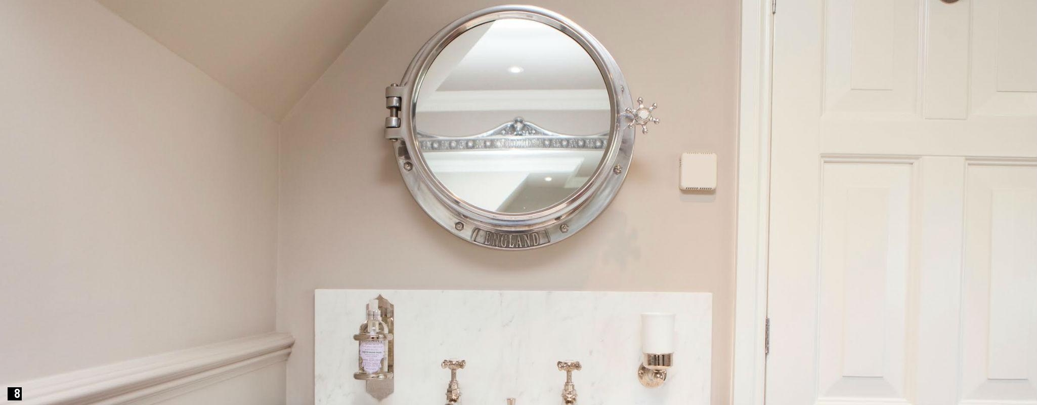 Brass Porthole Medicine Cabinet Creative Cabinets Decoration In Porthole Style Mirrors (Image 4 of 15)