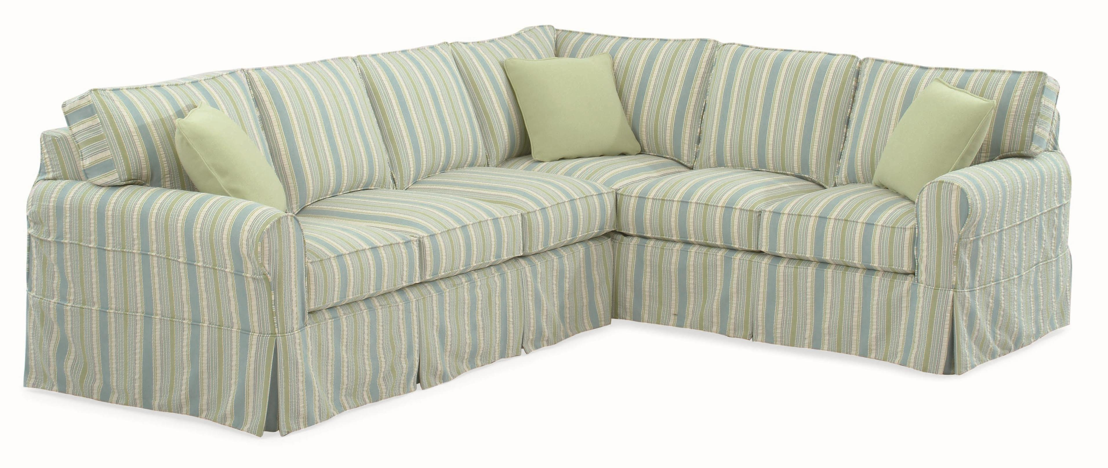 Braxton Culler 728 Casual Sectional Sofa With Rolled Arms And Intended For Braxton Sectional Sofa (Image 1 of 15)