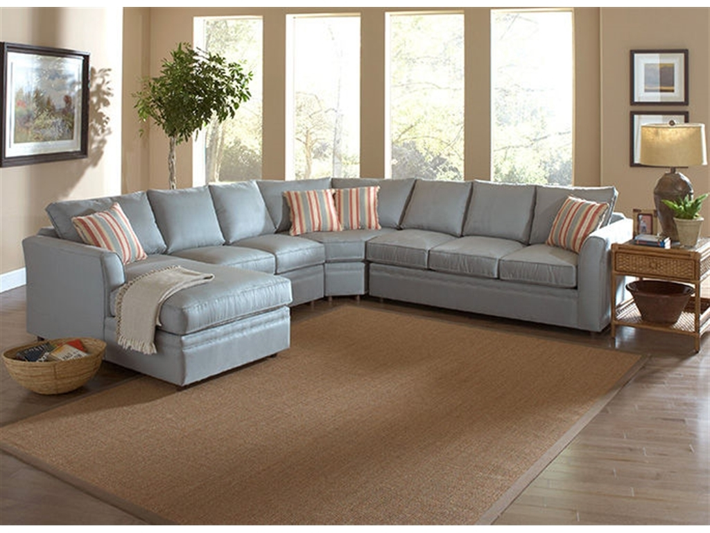 Braxton Culler Living Room Northfield Sectional 550 Sectional For Braxton Sectional Sofa (Image 3 of 15)