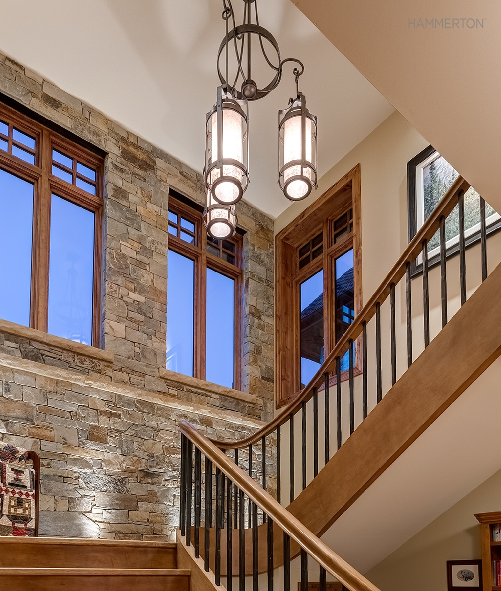 Bright Stairway Ideas Hammerton Blog Intended For Stairway Chandelier (Image 6 of 15)