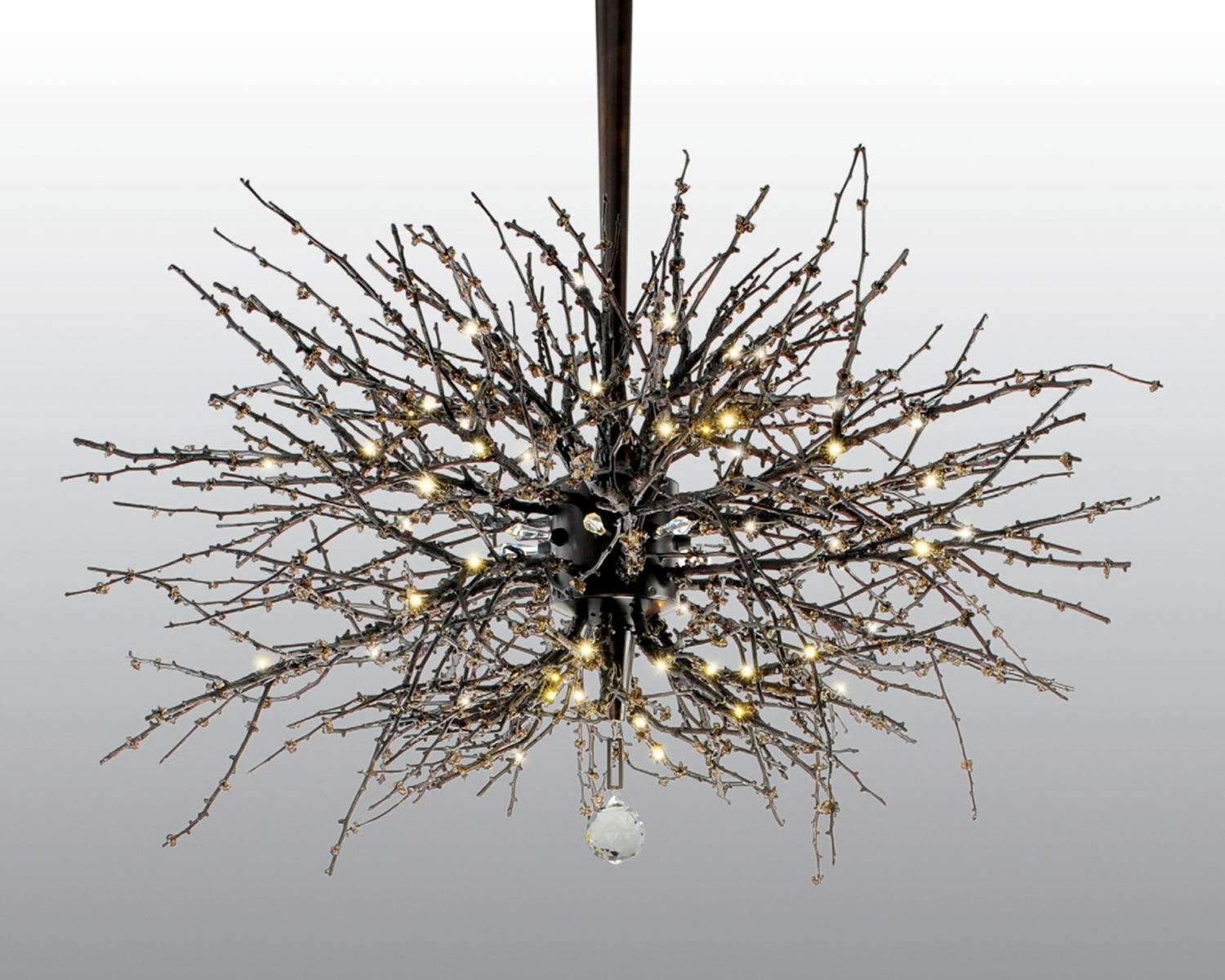 Brilliant Twig Chandelier For Home Remodeling Ideas With Twig In Bronze Modern Chandelier (Image 2 of 15)