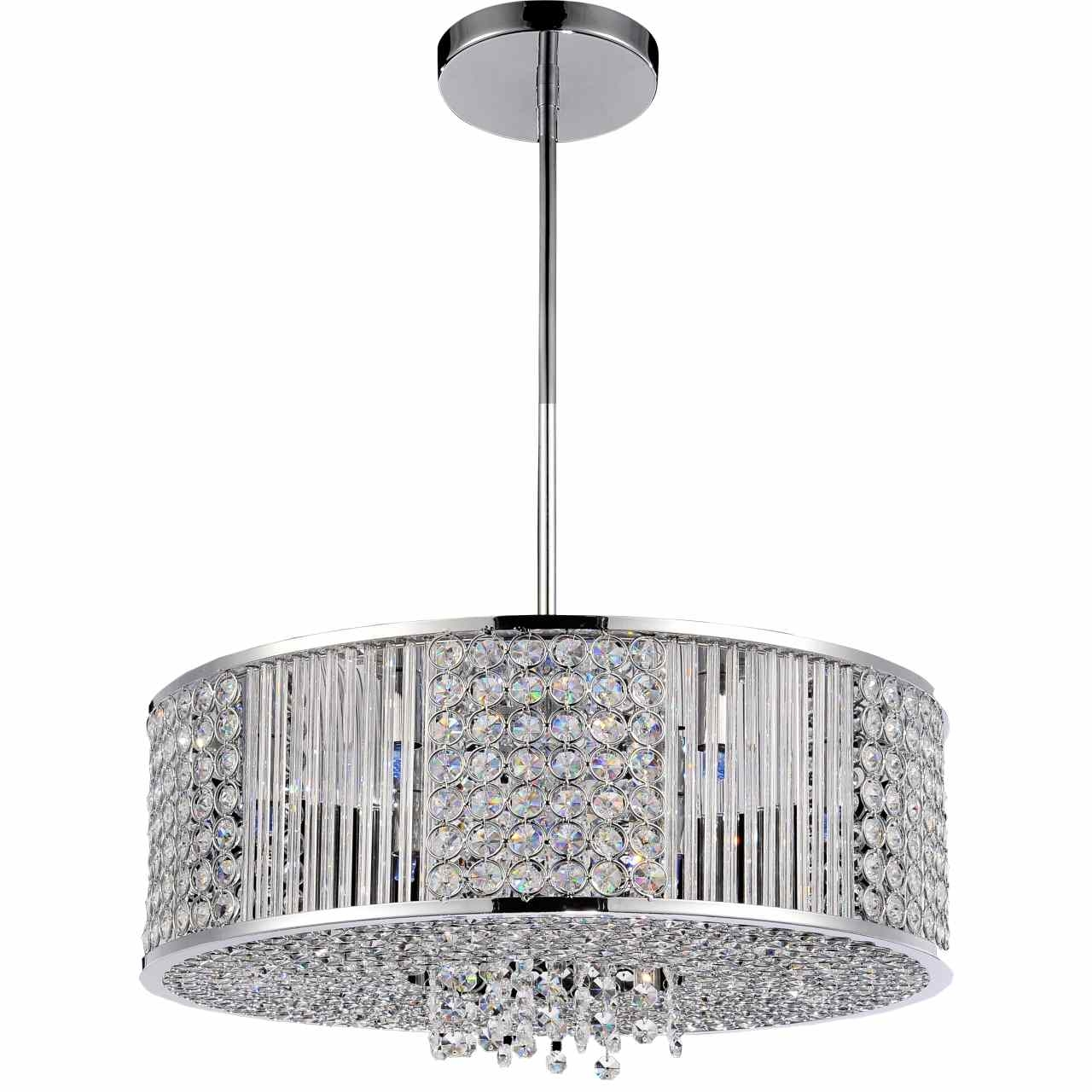 Featured Image of Modern Chrome Chandeliers