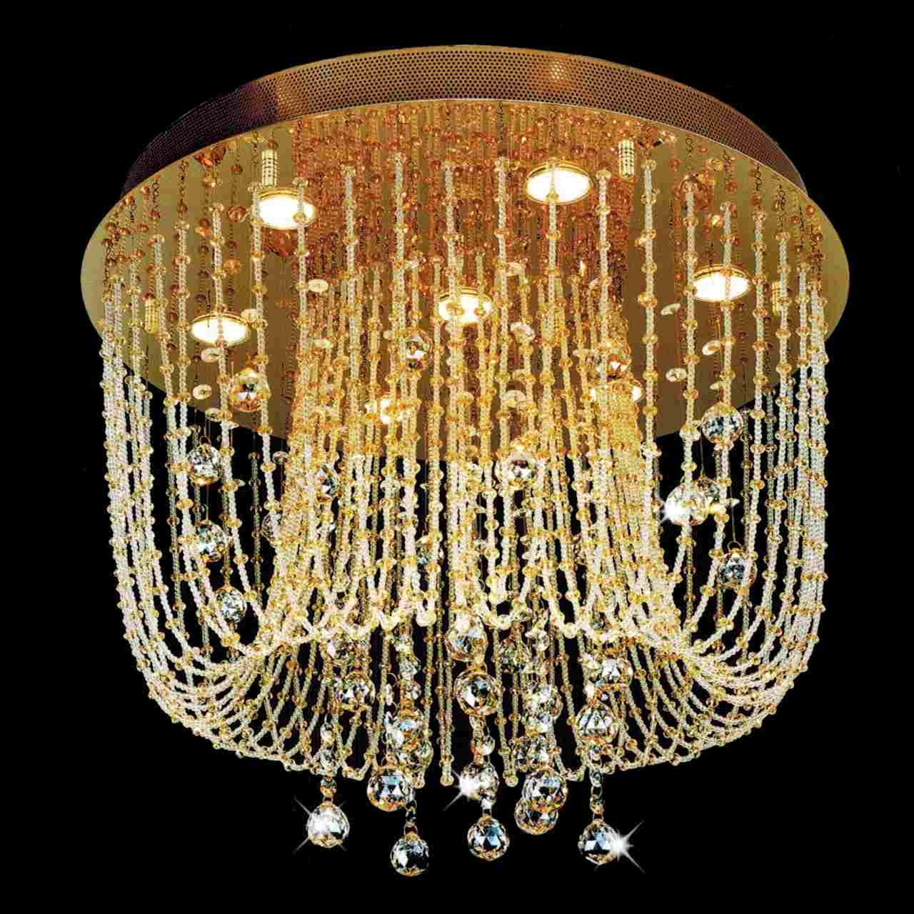 Brizzo Lighting Stores Chandeliers For Crystal Gold Chandelier (Image 4 of 15)