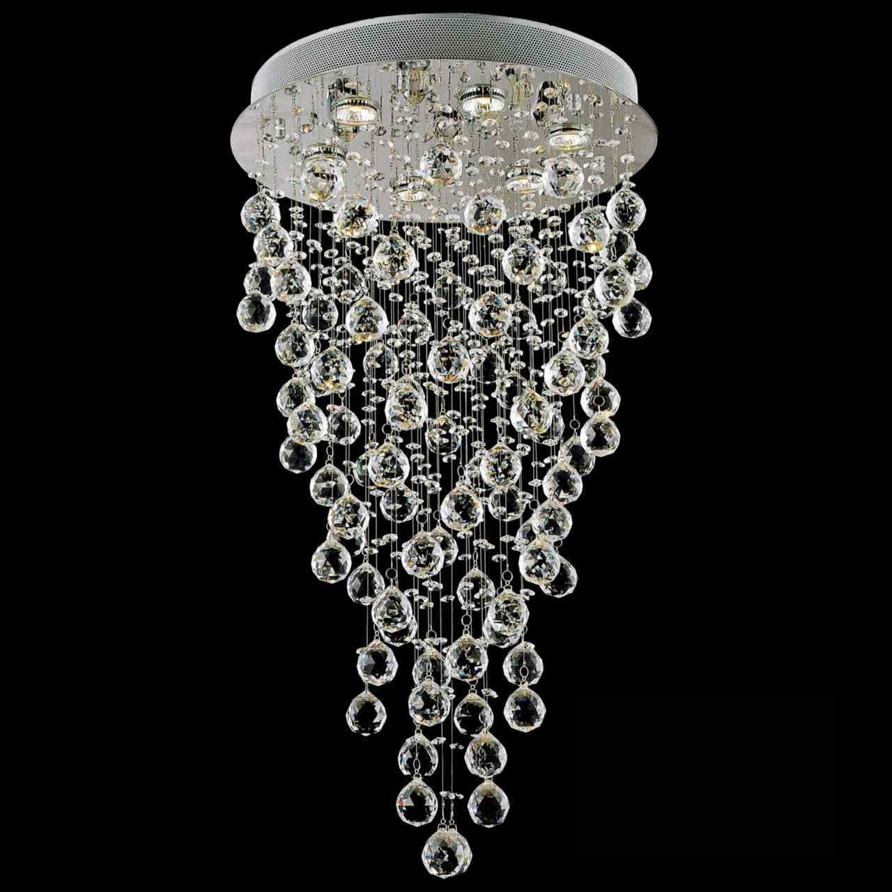 Brizzo Lighting Stores Large Size Pertaining To Mirror Chandelier (View 8 of 15)