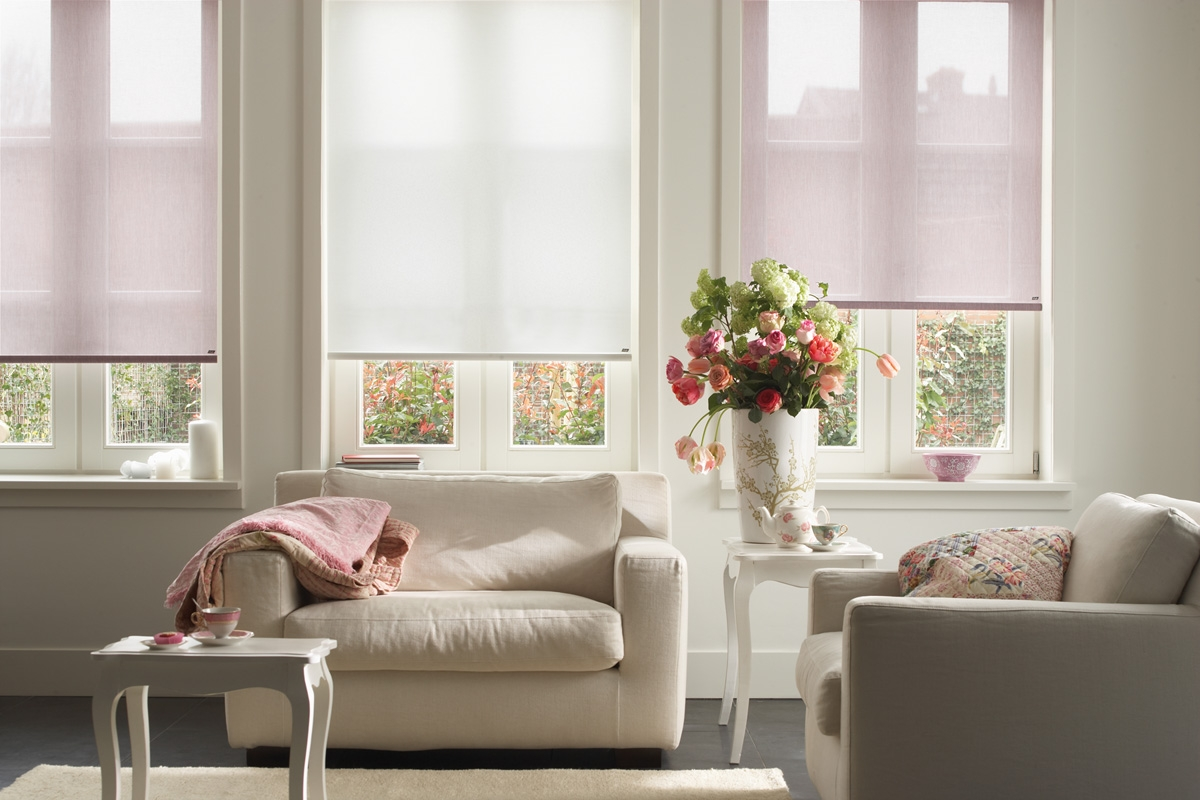 Bromley Curtains And Blinds Sheer Roller Blinds Bromley With Regard To Roller Blinds Sheer (Image 4 of 15)