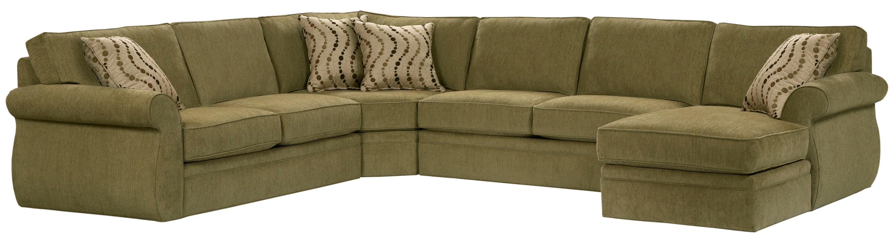 Broyhill Furniture Veronica Right Arm Facing Customizable Chaise Intended For Broyhill Sectional Sofas (Image 8 of 15)