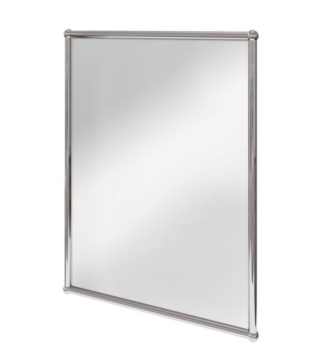 Burlington Rectangular Framed Mirror Uk Bathrooms With Regard To Chrome Framed Mirror (Image 5 of 15)