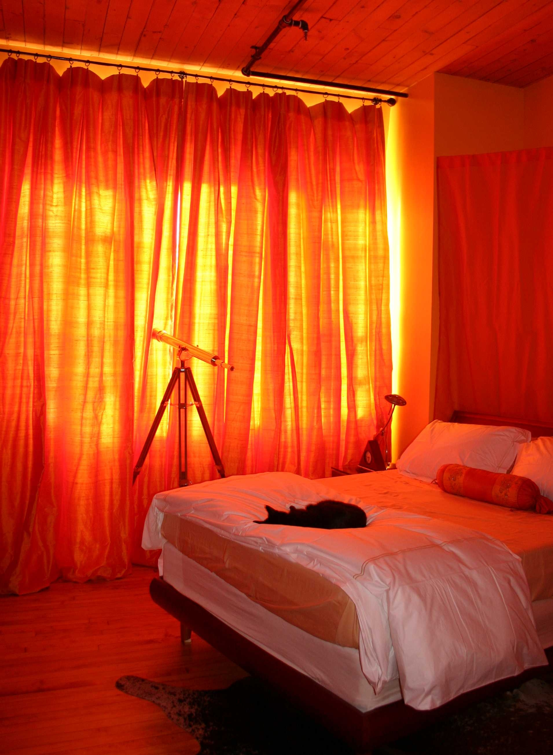 15 Collection Of Orange Velvet Curtains Curtain Ideas