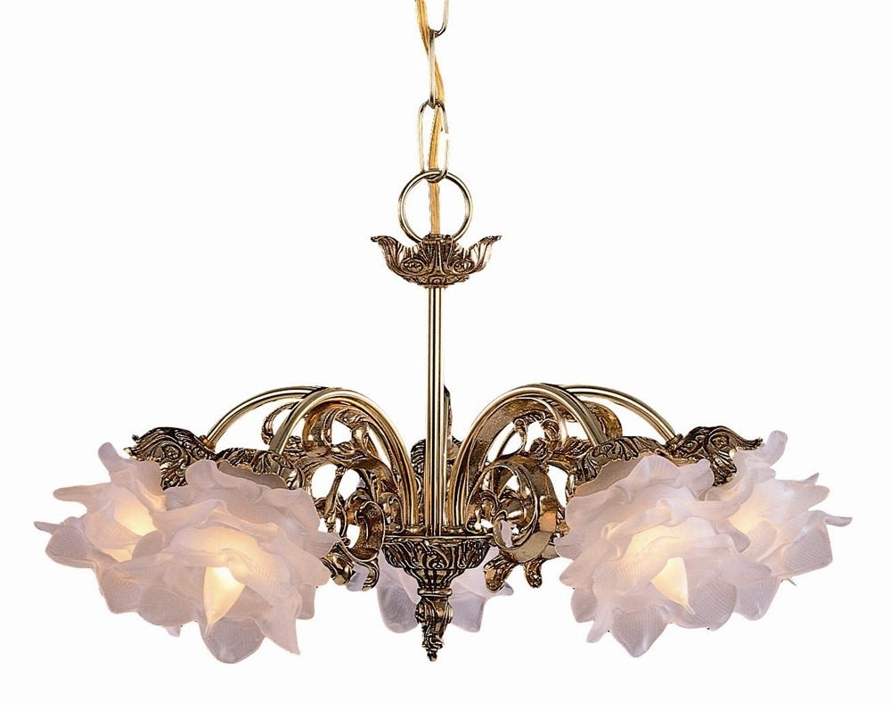 Buy 12 Lights Traditional Brass Chandelier Intended For Traditional Brass Chandeliers (Image 4 of 15)