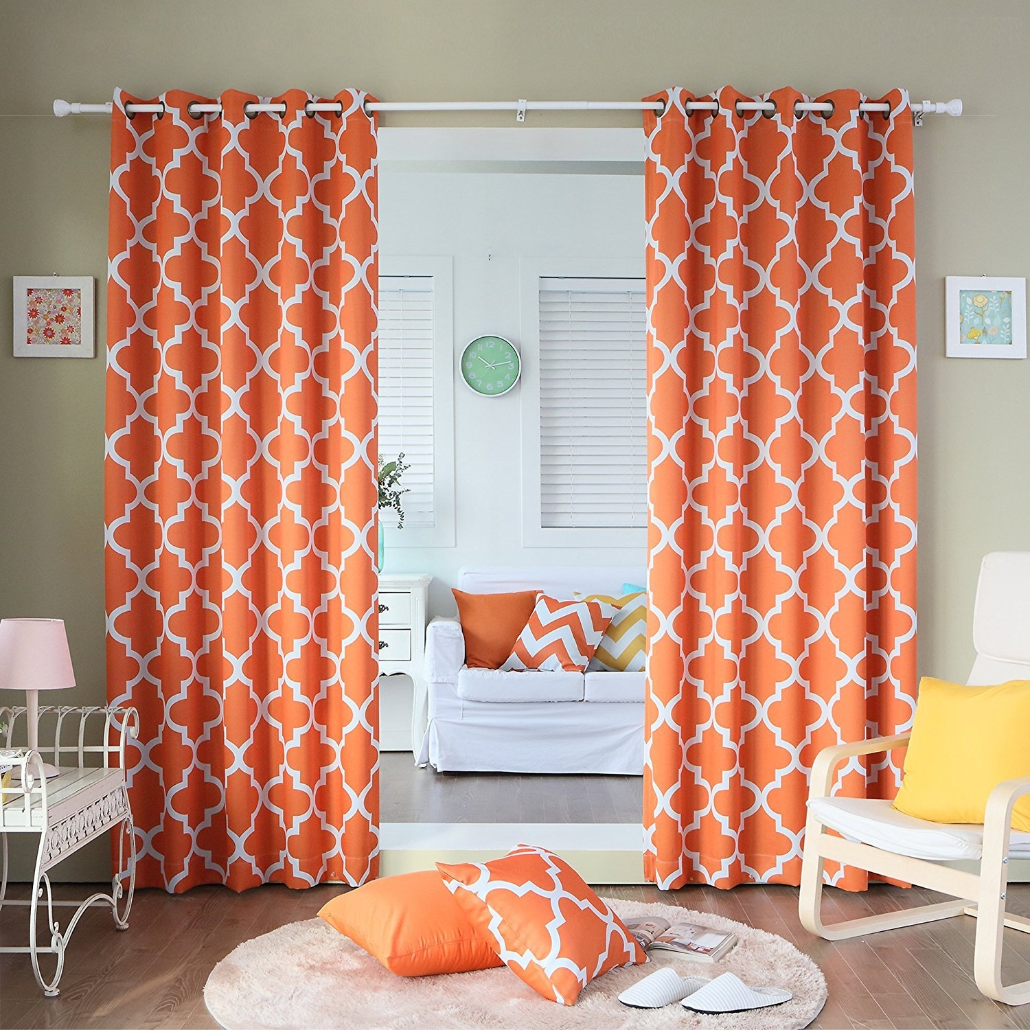 Featured Image of Moroccan Print Curtains