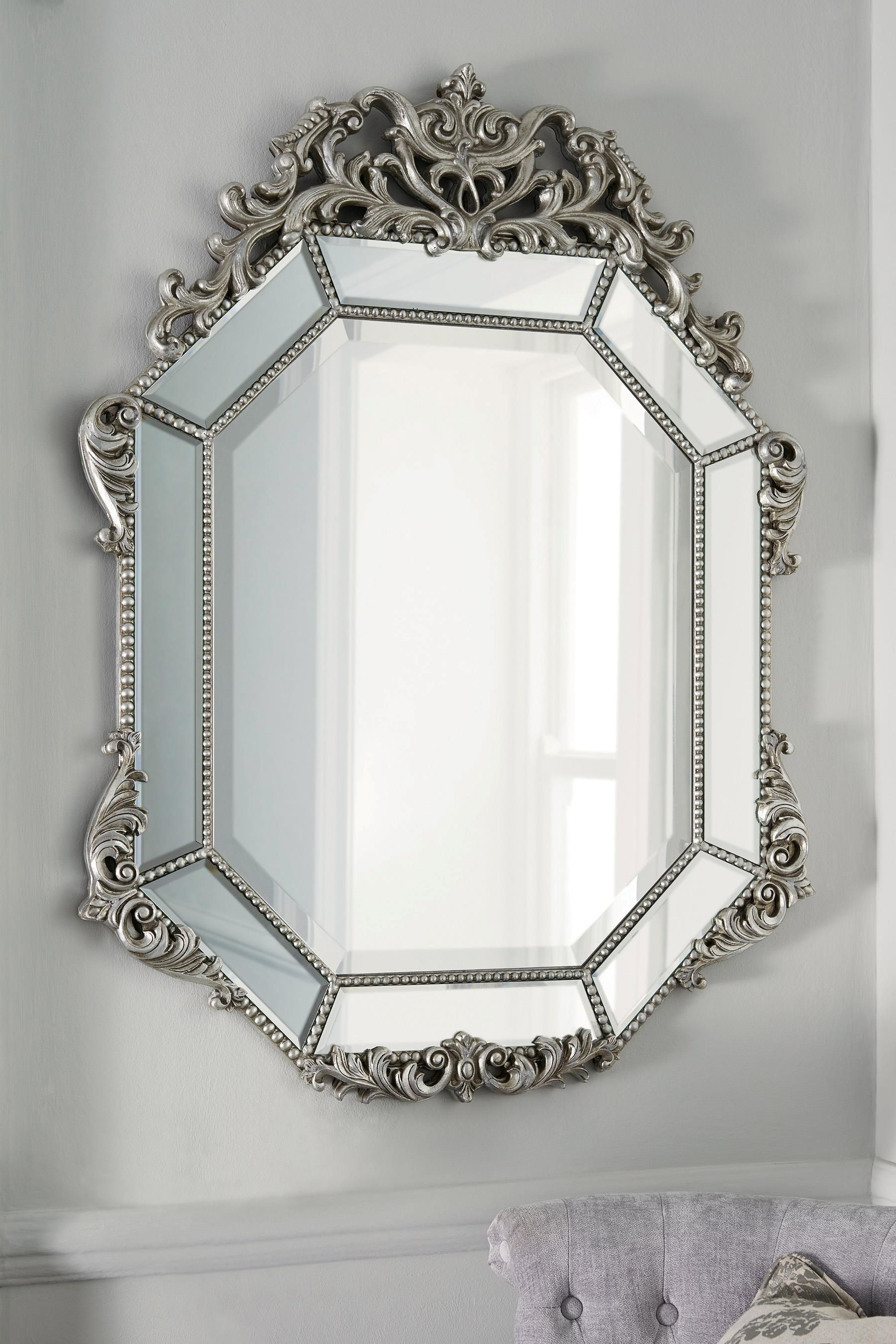 Buy Fleur Mirror From The Next Uk Online Shop New House With Regard To Mirror Online Shop (Image 6 of 15)