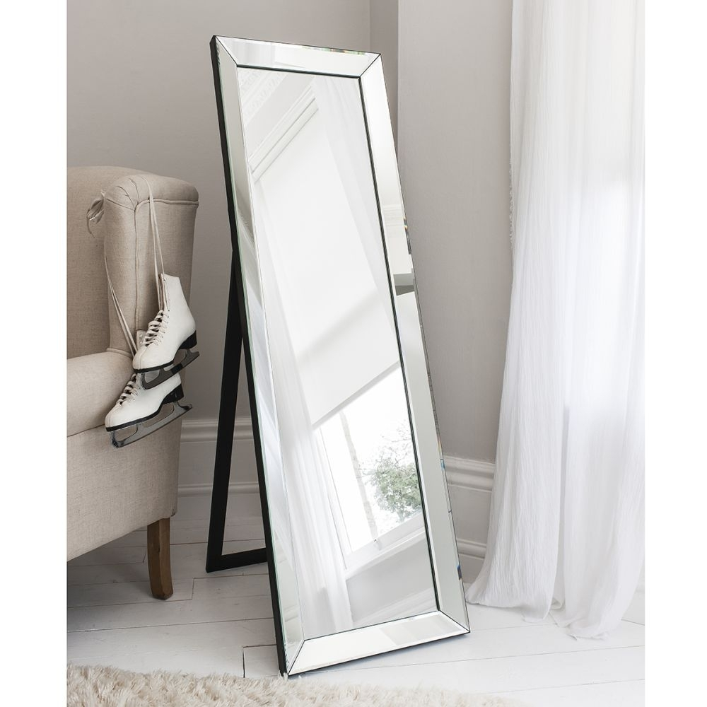 Buy Gallery Direct Luna Cheval Mirror Online Cfs Uk For Buy Free Standing Mirror (Image 1 of 15)