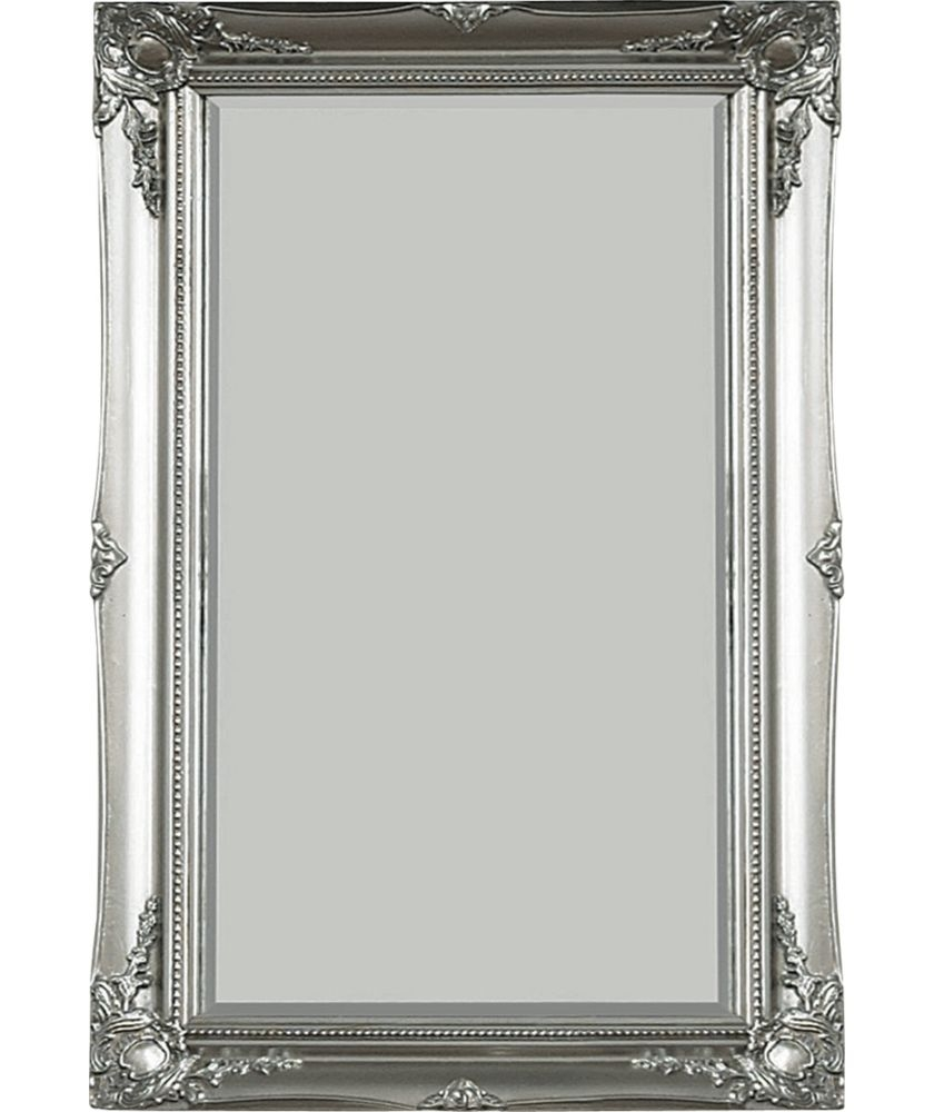 Buy Maissance Swept Wall Mirror Silver At Argoscouk Your Throughout Mirror Online Shop (Image 8 of 15)