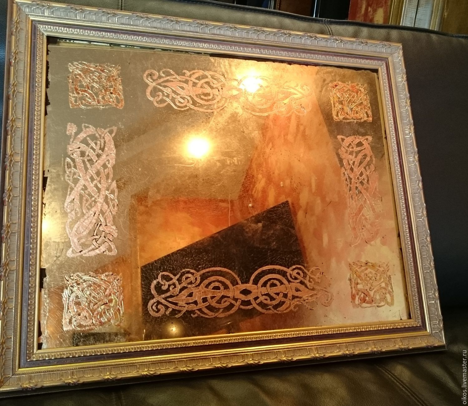 Buy Ornamental Antique Vintage Mirror With Celtic Pattern Combo For Buy Vintage Mirror (View 13 of 15)