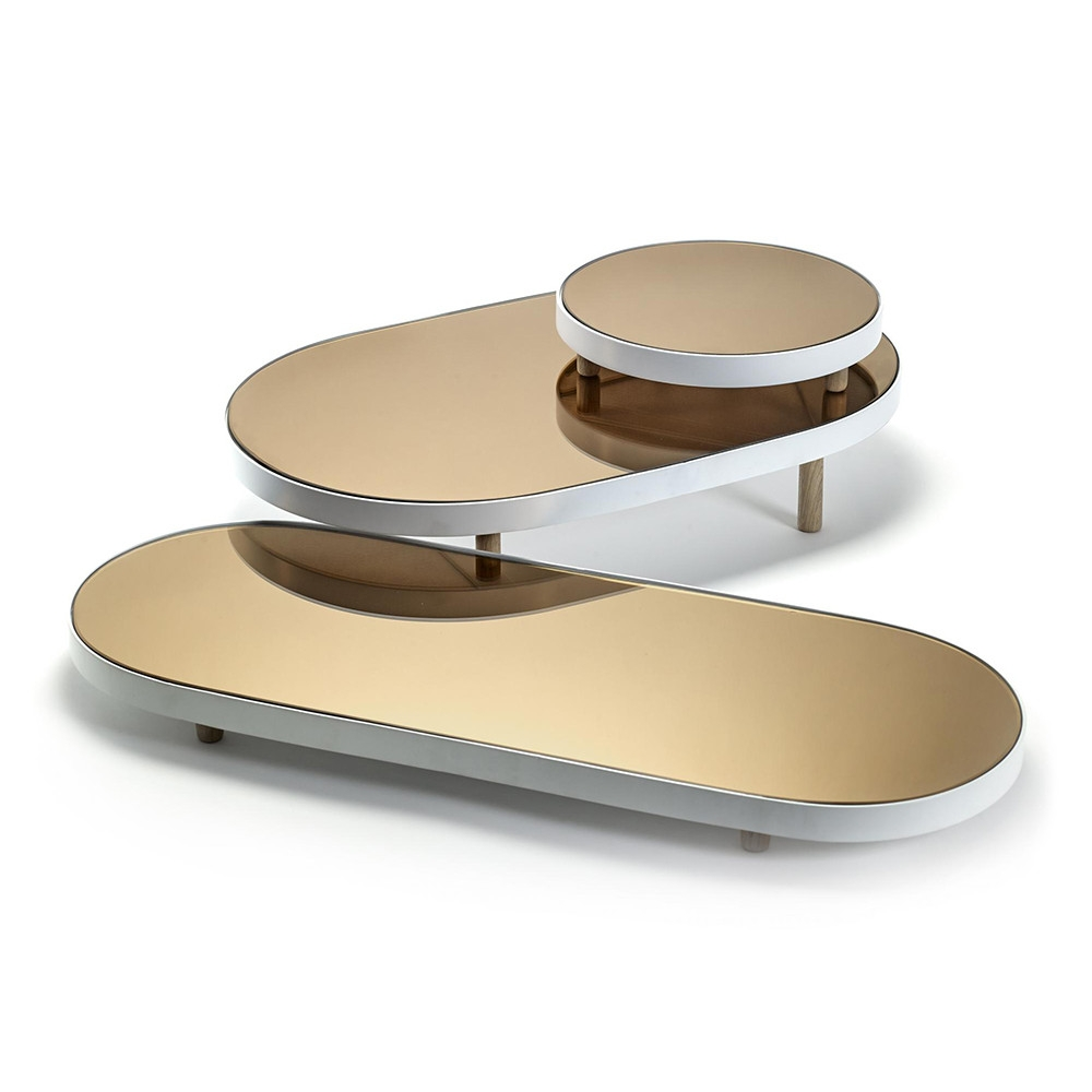 Buy Serax Studio Simple Long Oval Mirror Tray Amara For Long Oval Mirror (View 9 of 15)