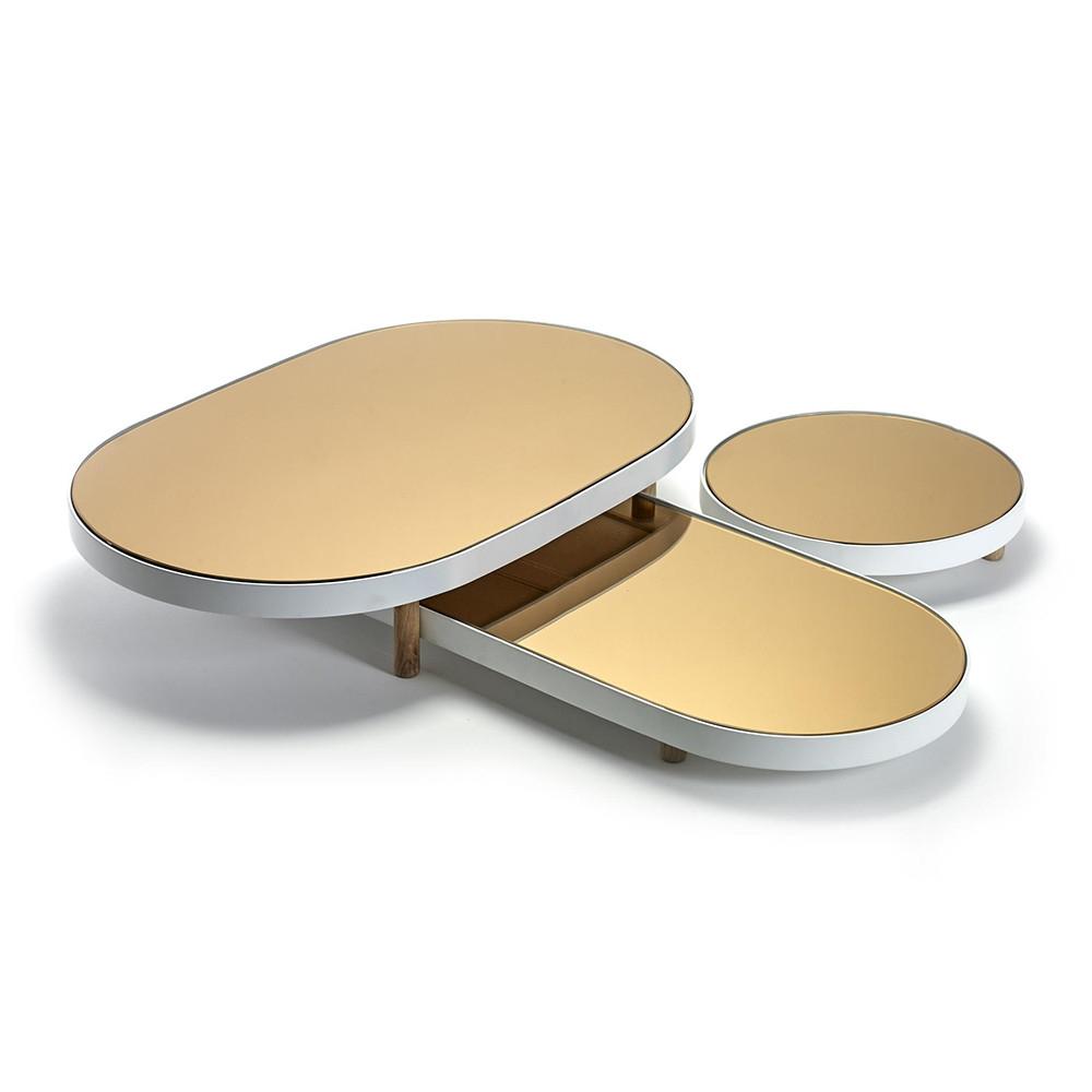 Buy Serax Studio Simple Long Oval Mirror Tray Amara Pertaining To Long Oval Mirror (View 6 of 15)