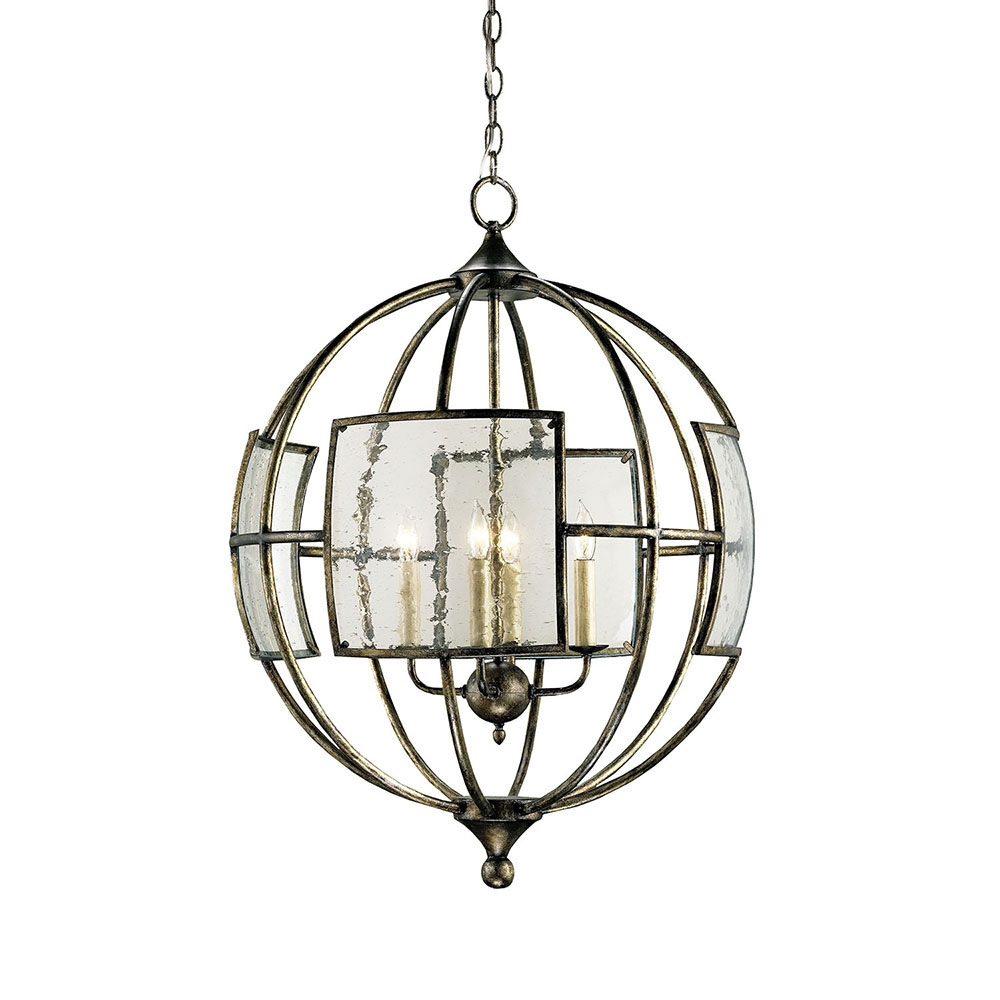 Buy The Broxton Orb Chandelier Currey Company In Orb Chandelier (Image 4 of 15)