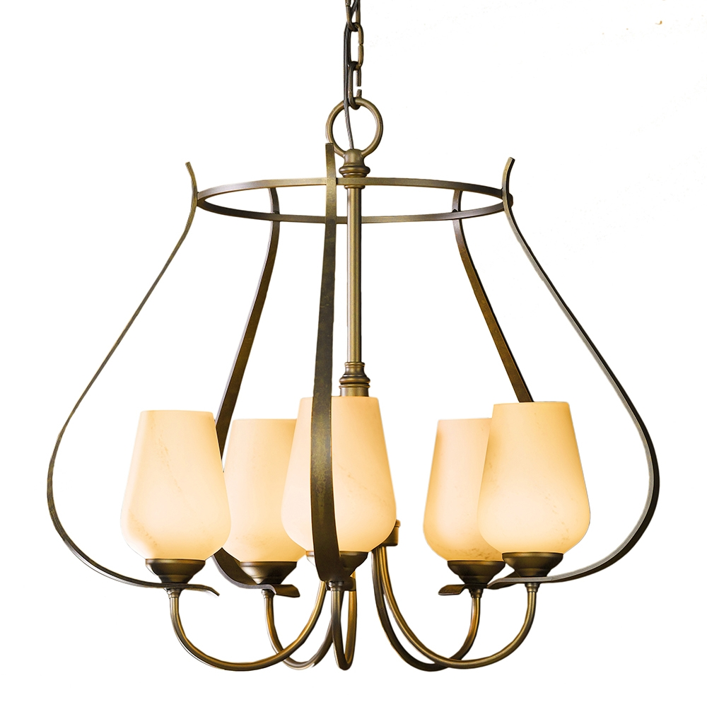 Buy The Flora 5 Arm Circular Caged Chandelier With Caged Chandelier (Image 2 of 15)