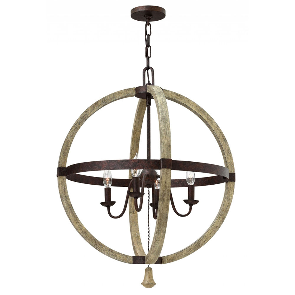 Buy The Middlefield 4 Light Sphere Chandelier With Regard To Sphere Chandelier (Image 5 of 15)