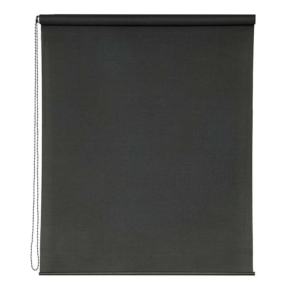 Buy Window Blinds Roller Blinds Roman Blinds More Briscoes Pertaining To Black Roman Blinds (Image 7 of 15)