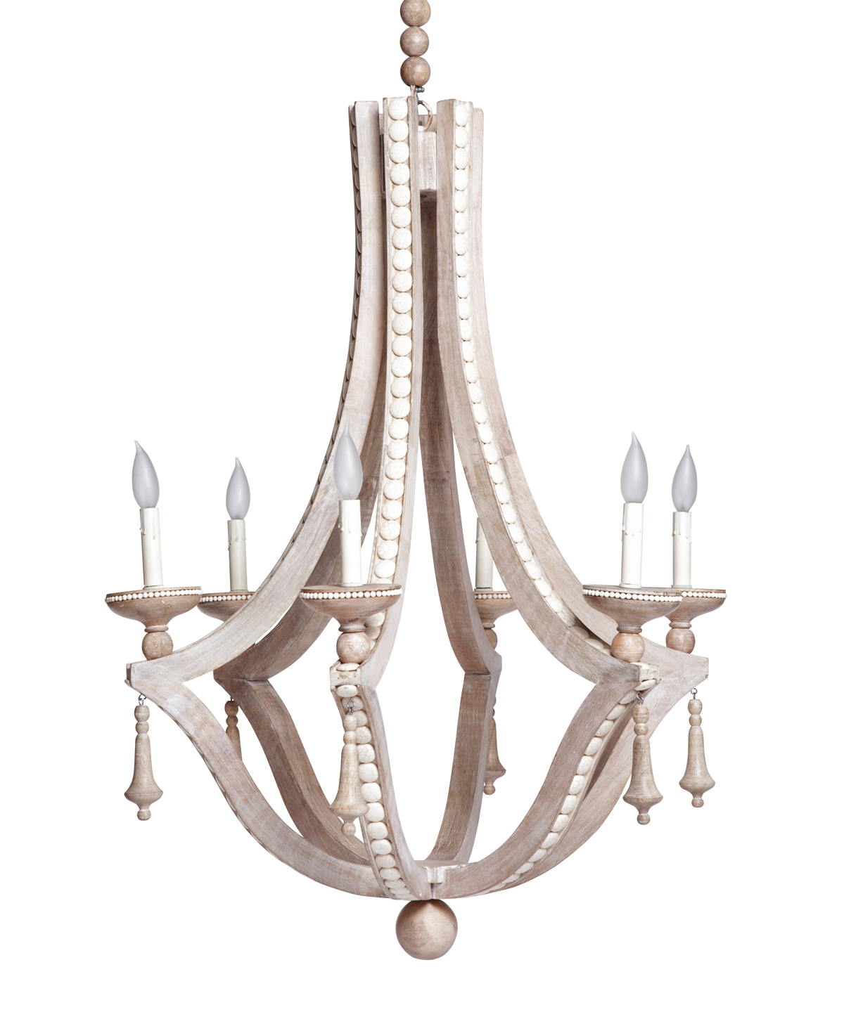 Cabochon Chandelier Cream Emporium Home Emporium Home Within Cream Chandeliers (Image 2 of 15)