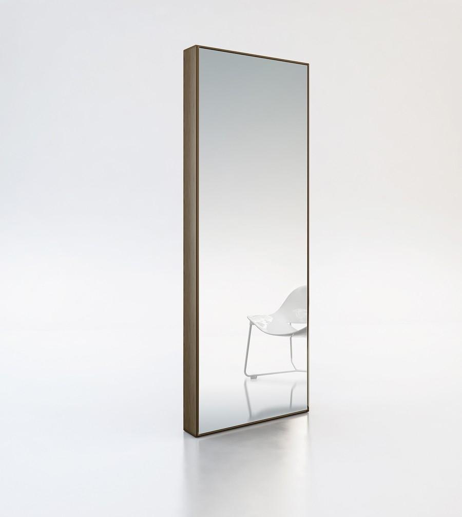 Cadomodernfurnituregreenemodernmirrorwalnutmodloft With Mirror Modern (View 4 of 15)
