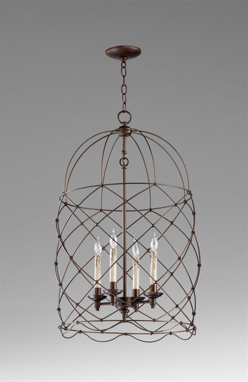 Cage Chandelier Amazing On Home Decorating Ideas With Cage Throughout Cage Chandeliers (Image 2 of 15)