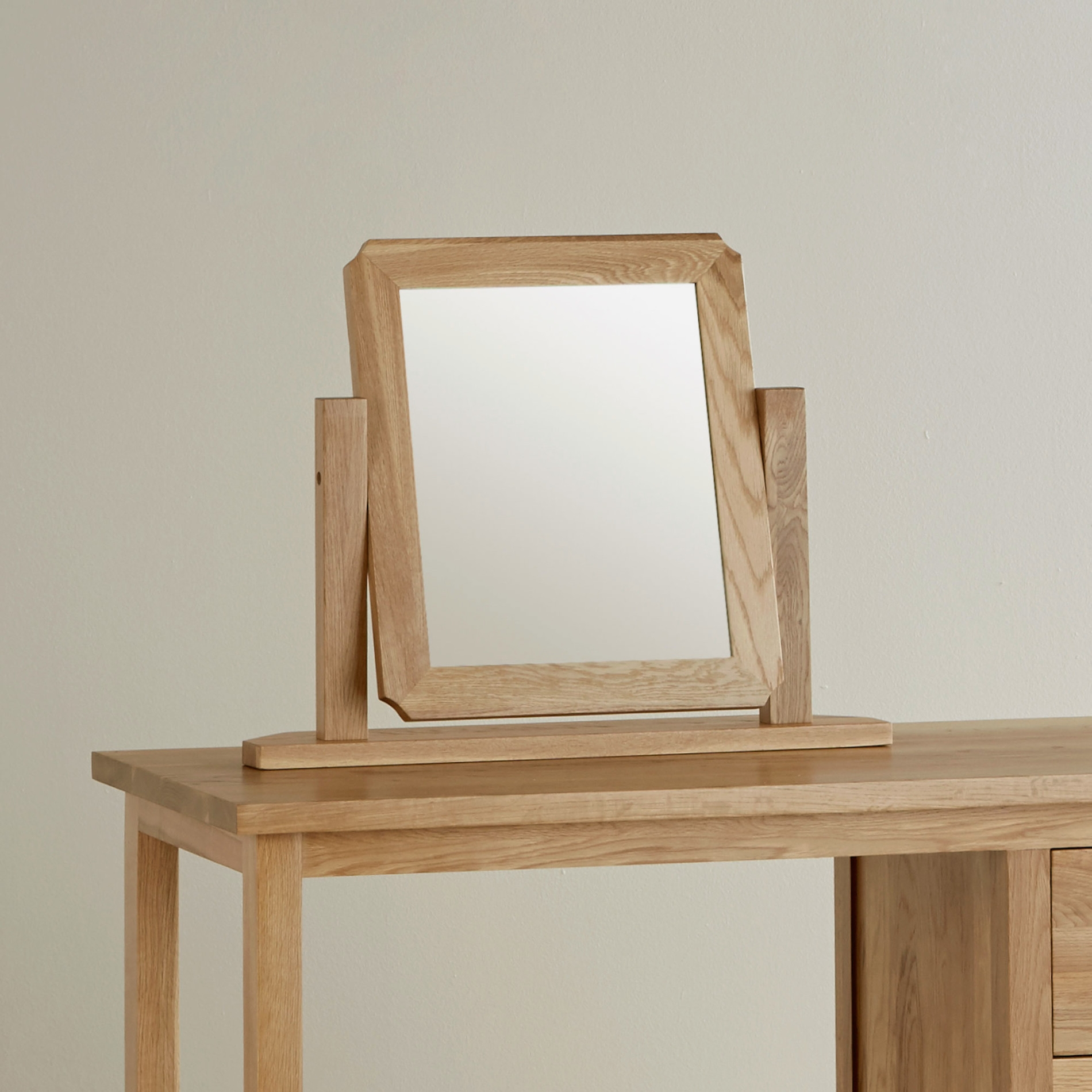 Featured Image of Oak Mirror