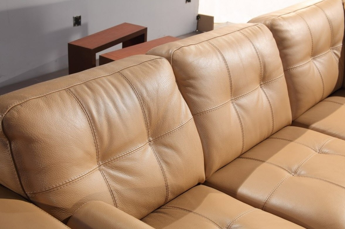 Camel Colored Sectional Sofa Hereo Sofa Intended For Camel Sectional Sofa (View 15 of 15)