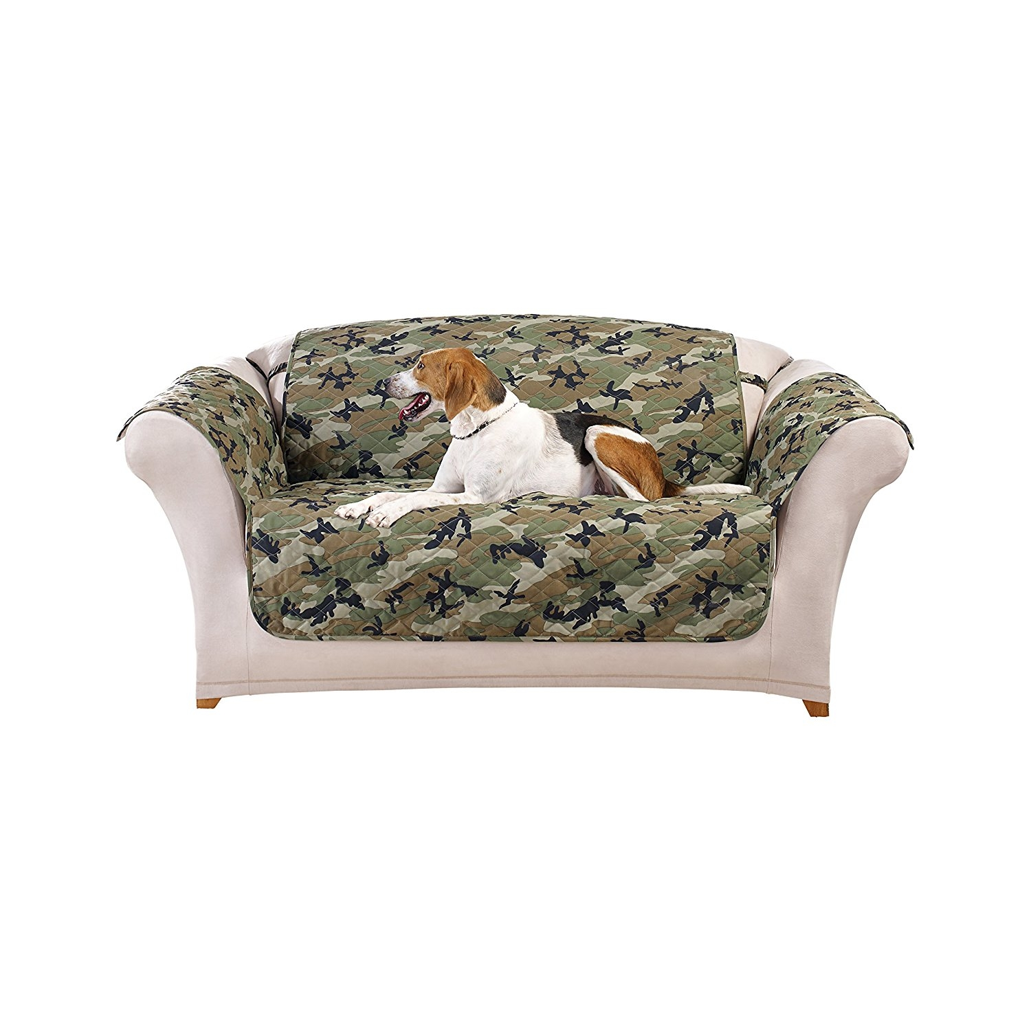 Camo Sofa Cover All Information Sofa Desain Ideas With Regard To Camo Sofa Cover (Image 1 of 15)