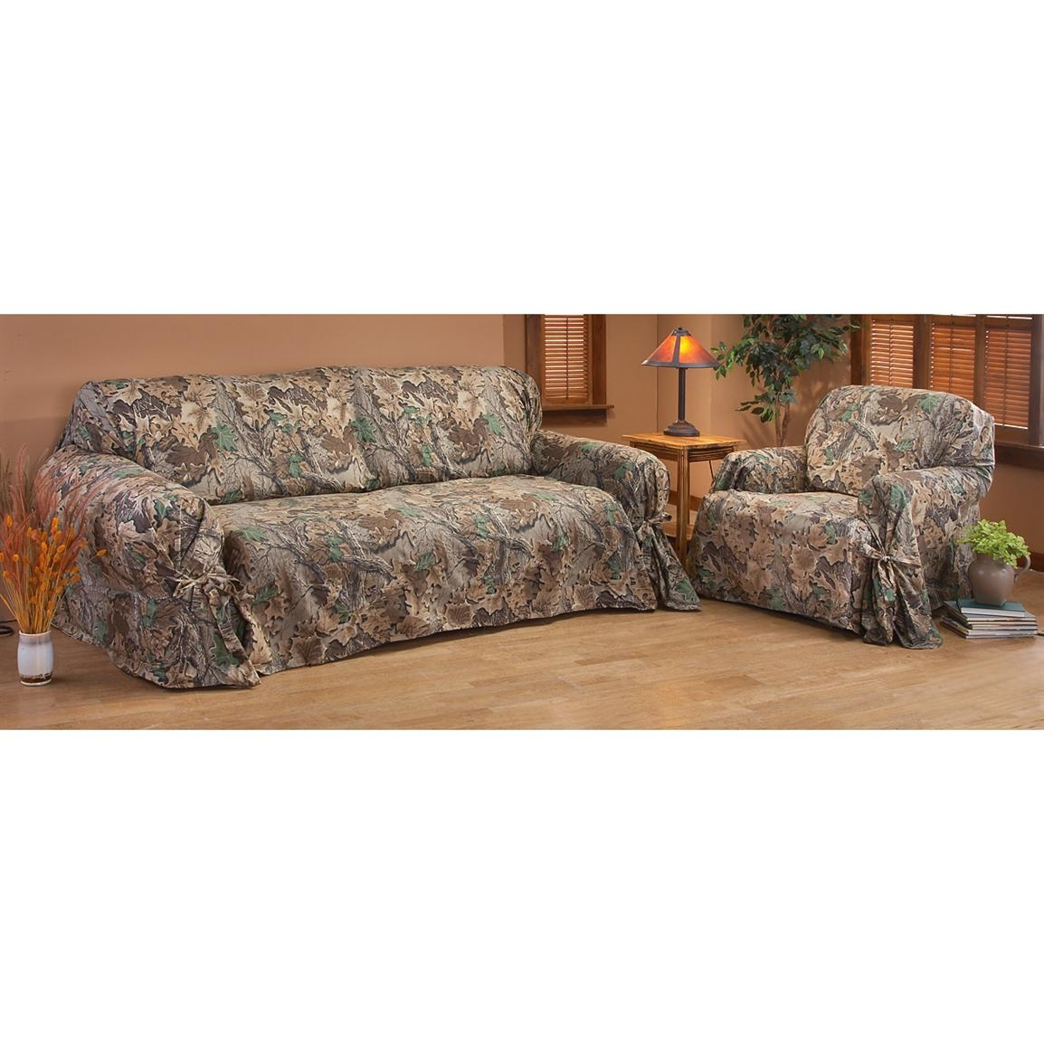 Camo Sofa Cover Couches Furniture Gallery Throughout Camo Sofa Cover (Image 2 of 15)
