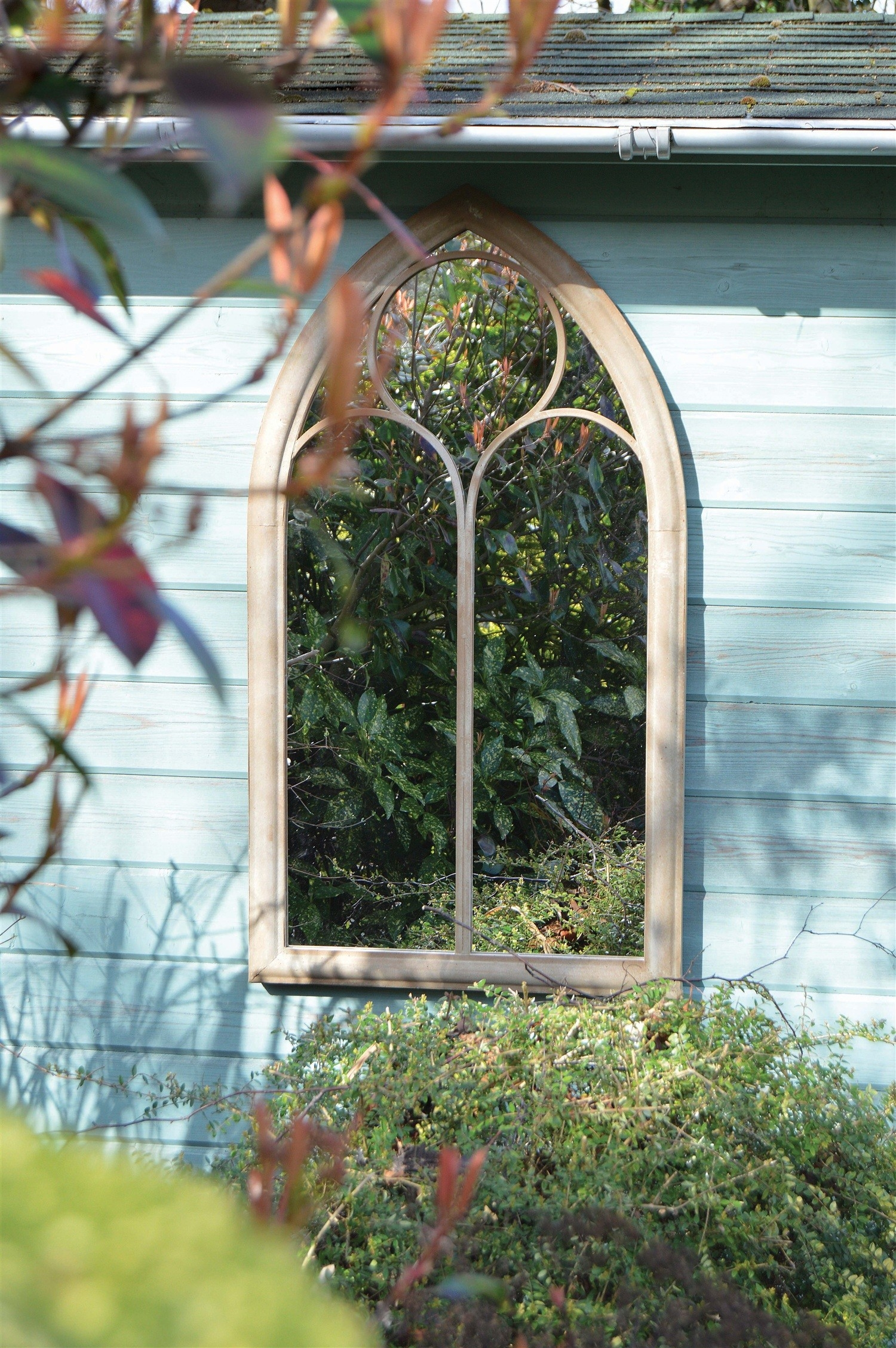 Capulet Rustic Garden Mirror Alison At Home Retail Ltd For Garden Mirror (Image 3 of 15)